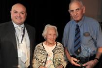 image of Barbara Chapman and Norman Allen - Joint Winners Lifetime Achievement Award - Basildon Volunteer Awards 2018
