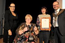 image of Mary Pearne - Winner Tony Guyon Memorial Cup Volunteer Of The Year - Basildon Volunteer Awards 2018