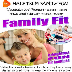 The Place Family Fit Days - Half-term Family Fun